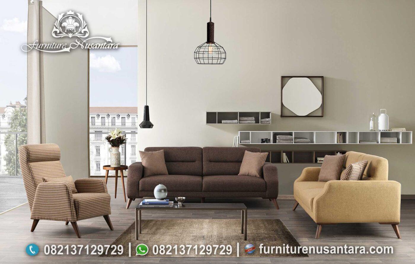 Model Sofa Terbaru Untuk Apartemen Minimalis ST-106, Furniture Nusantara