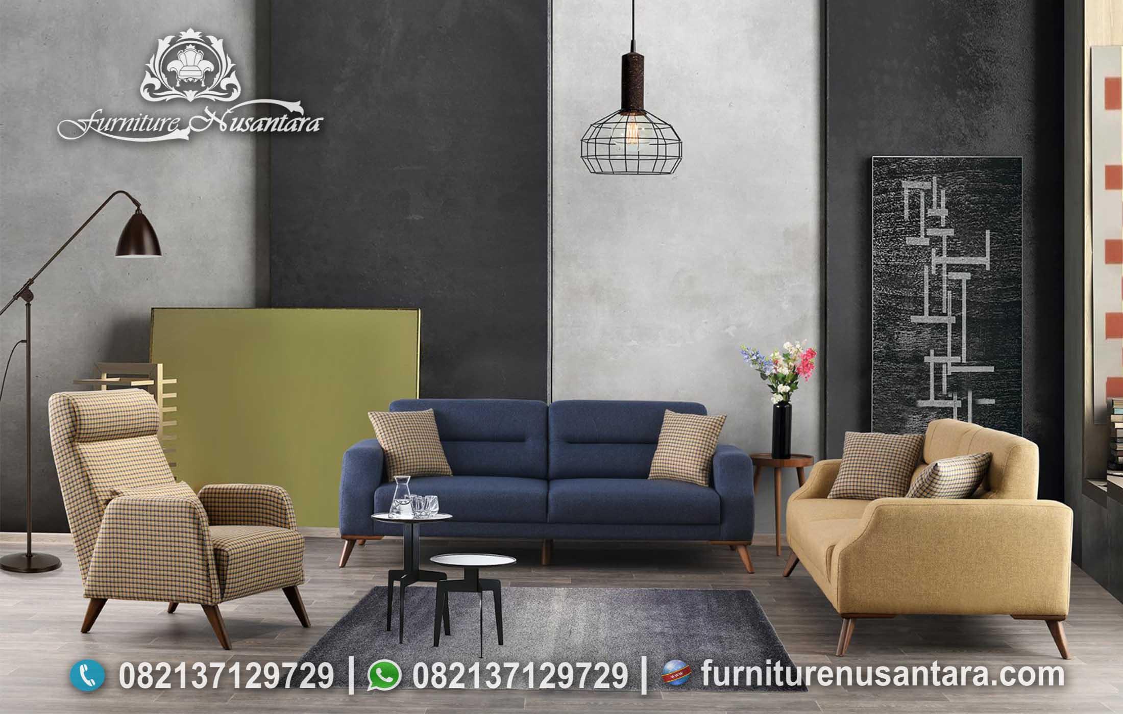 Inspirasi Sofa Tamu Ruang Tamu Mini ST-109, Furniture Nusantara