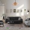 Sofa Minimalis Retro Modern Warna Soft ST-110, Furniture Nusantara