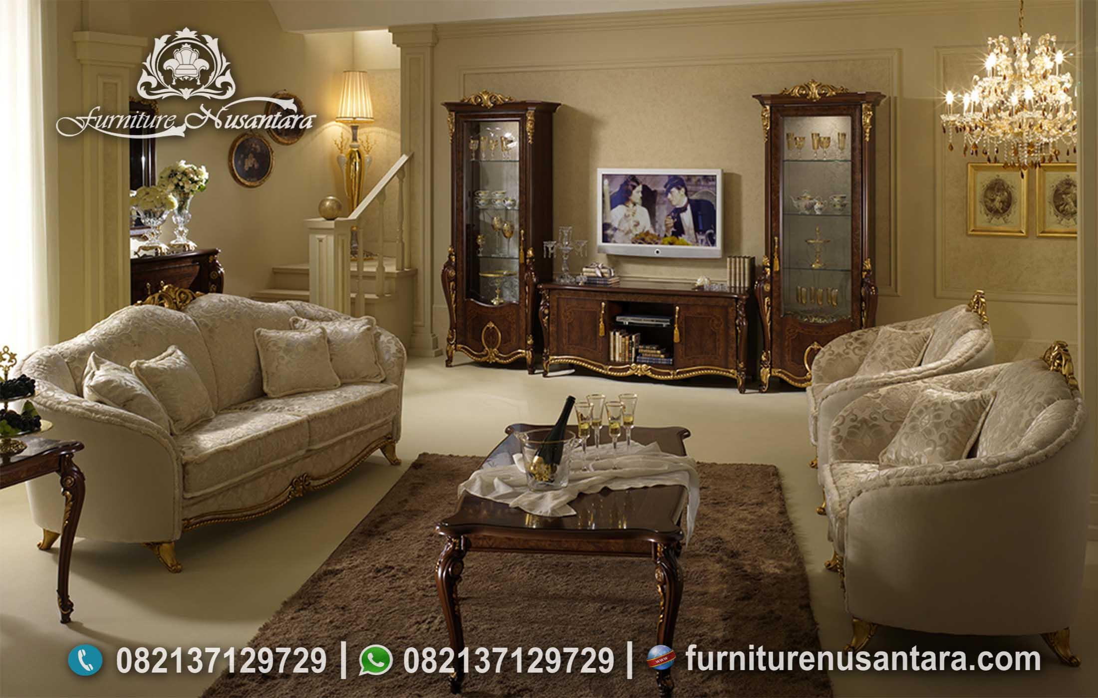 Desain Ruang Keluarga Klasik Eropa ST-118