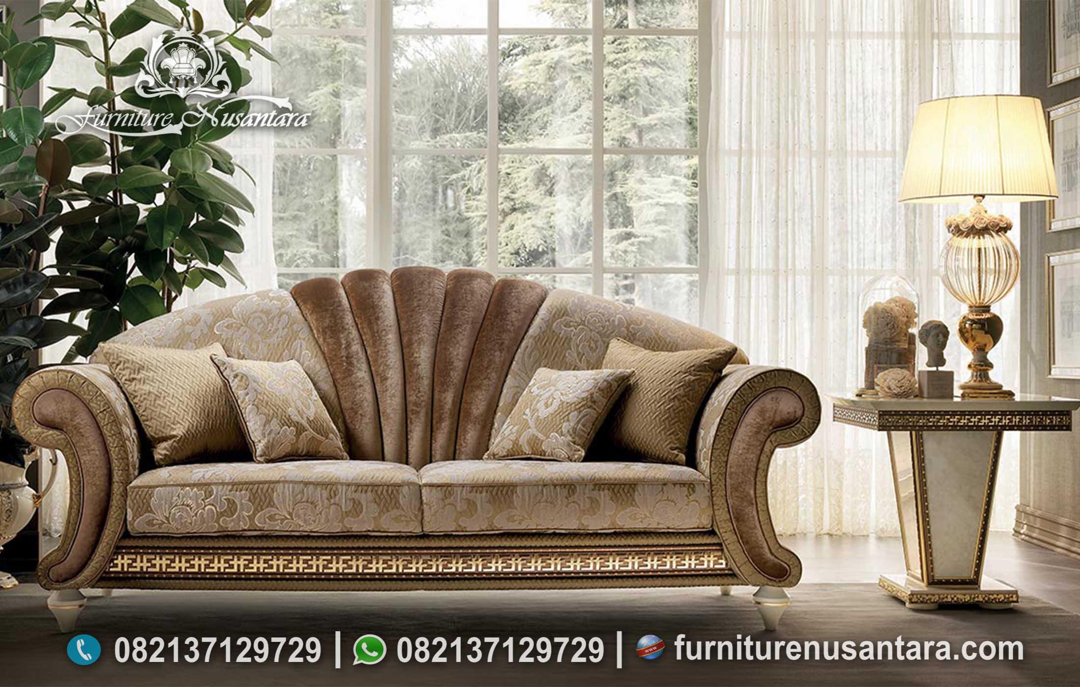 Sofa Santai Semi Klasik Luxury Mewah ST-123