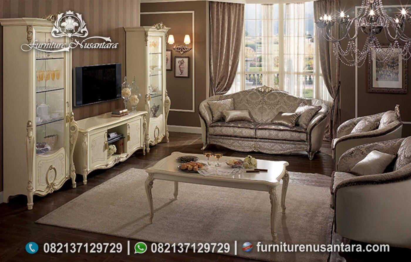 Terbaik! Sofa Klasik Ruang Keluarga Donatello ST-130