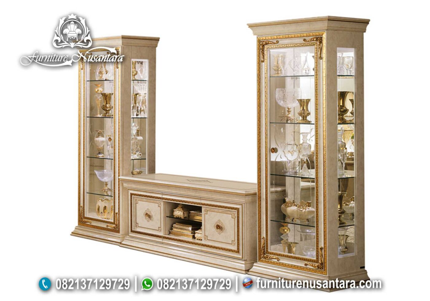 Set Buffet TV Lemari Hias Liberty BTV-16