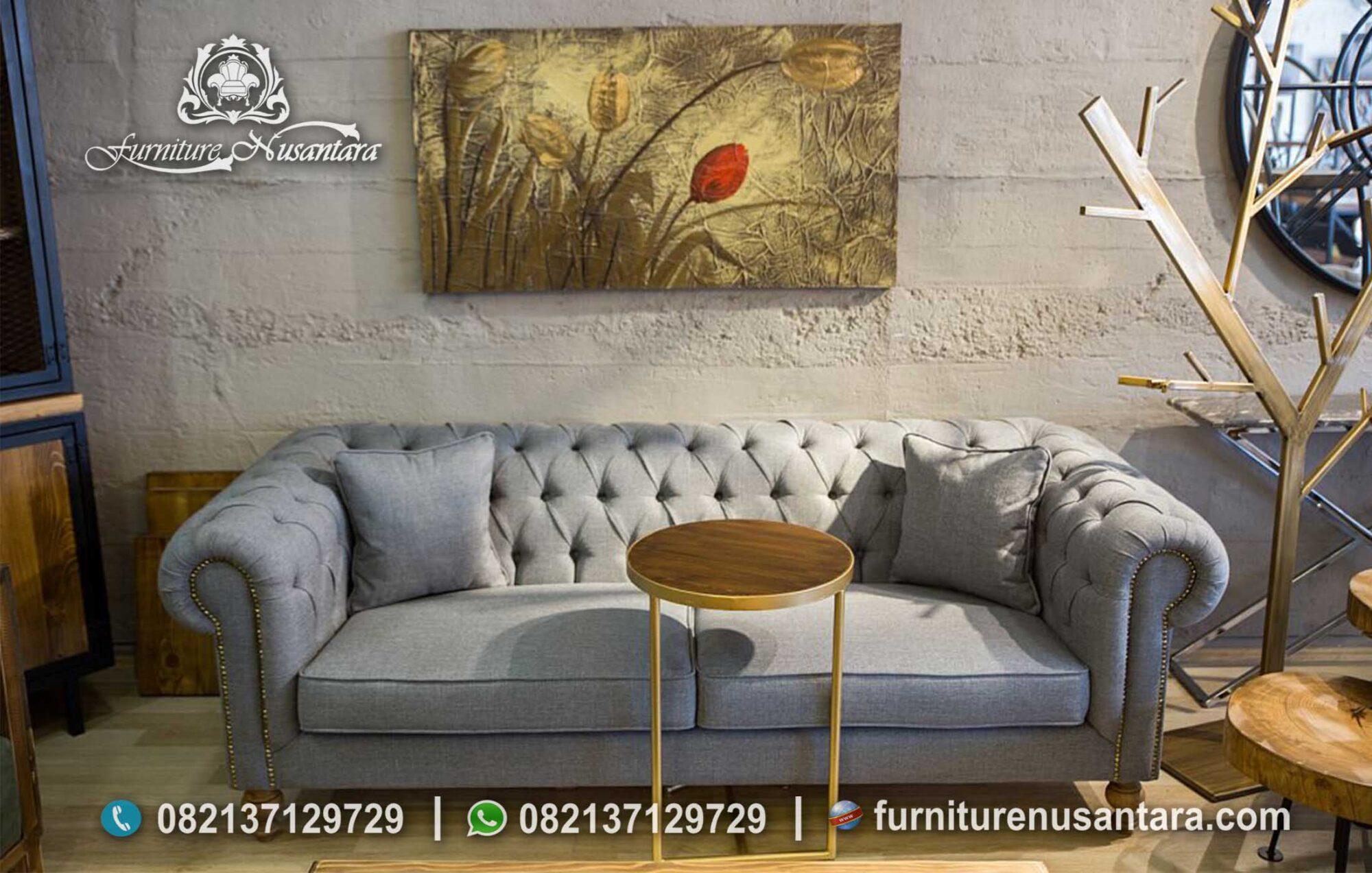 Sofa Chesterfiled 2 Dudukan Modern ST-85, Furniture Nusantara