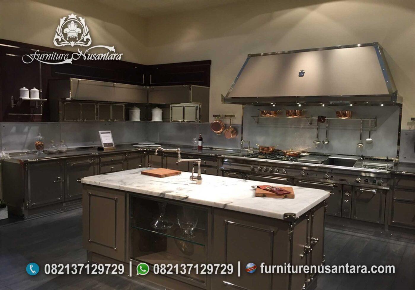Desain Kitchen Set Warna Coklat Jakarta KC-17