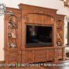Buffet TV Klasik Minimalis Jati Natural BTV-33, Furniture Nusantara