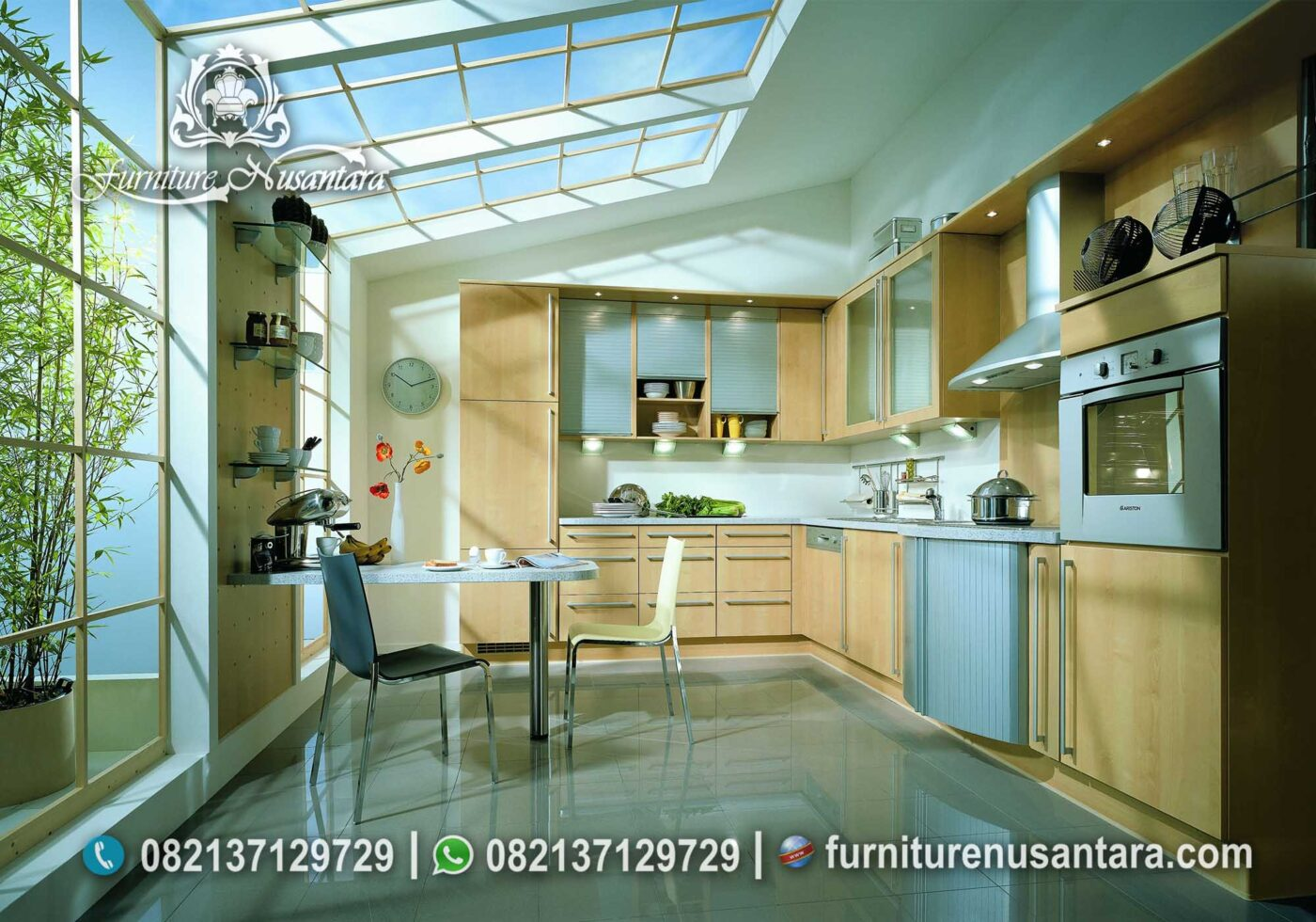 Kitchen Set HPL Murah Semarang Harga Custom Model KC-41