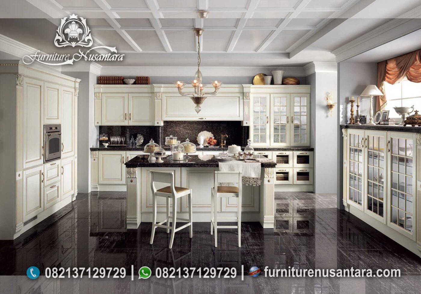 Desain Kitchen Set Modern Terbaik Termewah KC-08