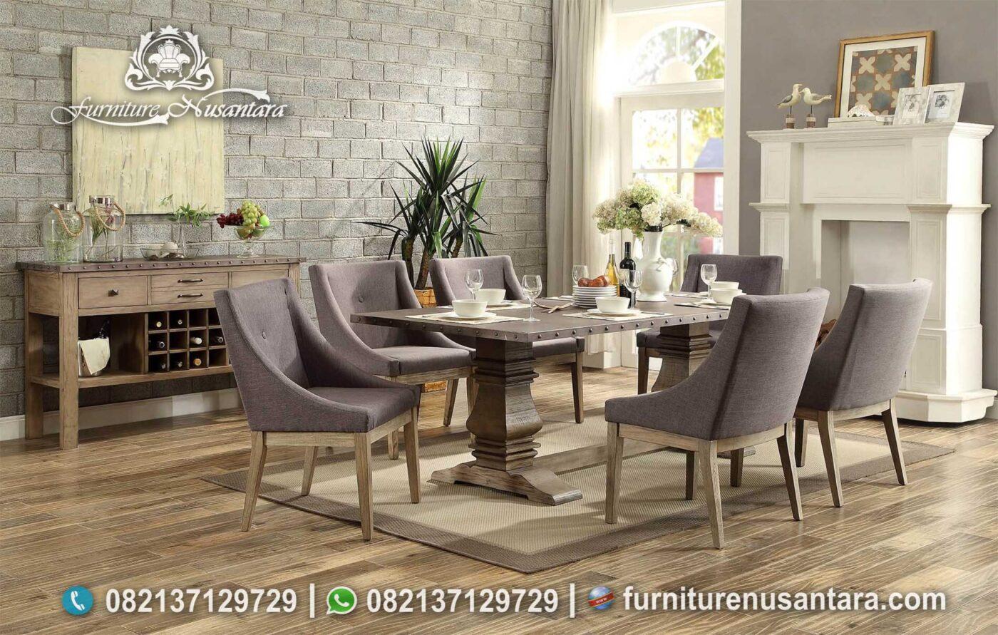 Set Kursi Meja Makan Restoran Mewah MM-127, Furniture Nusantara