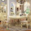 Inspirasi Meja Makan Warna Cream Klasik MM-141