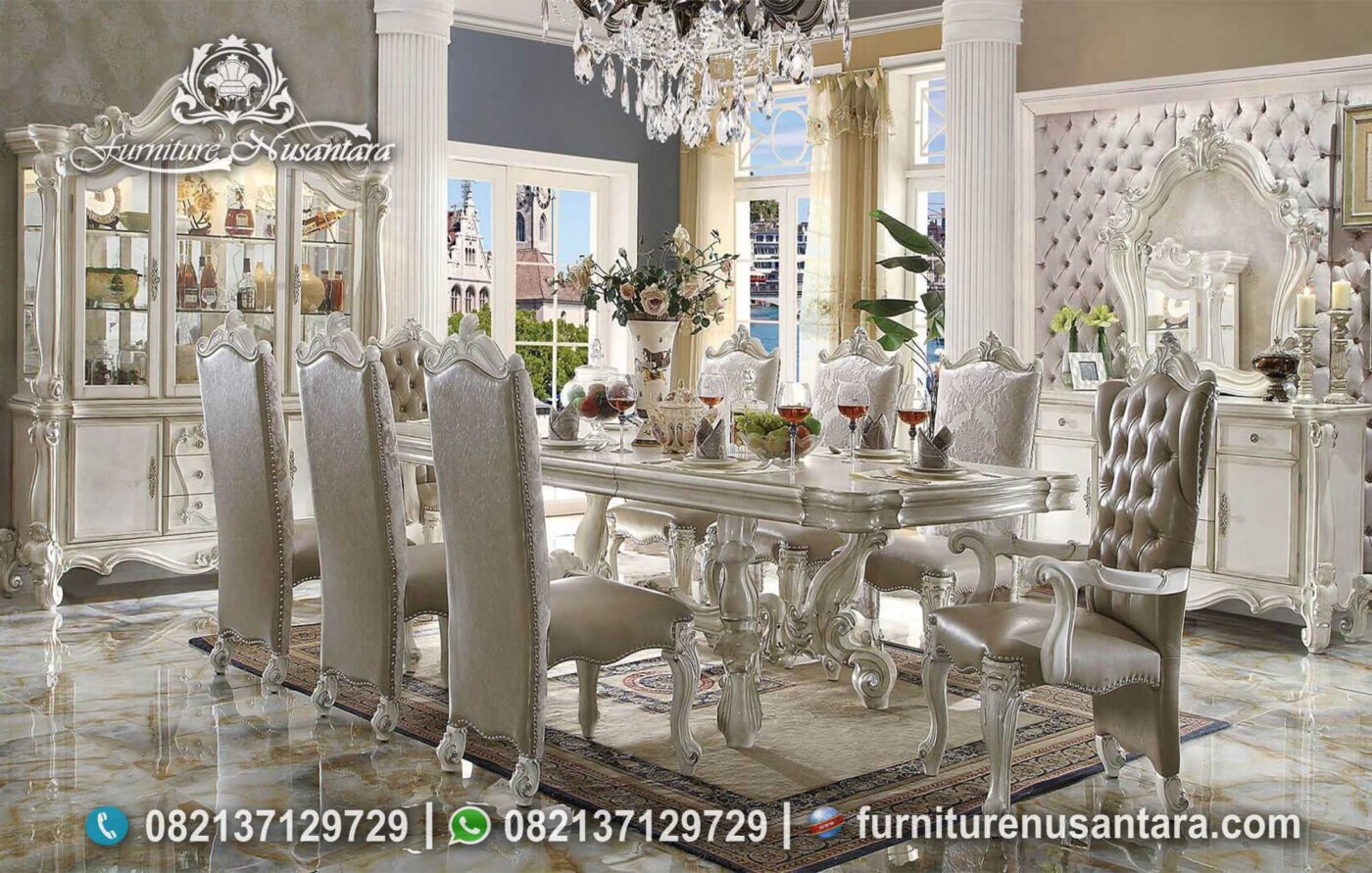 Meja Makan Luxury Mewah Cantik Elegan MM-151