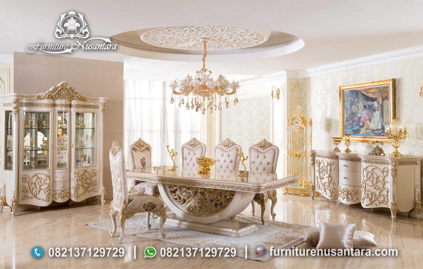 Desain Set Ruang Makan Mewah Ala Sultan MM-153